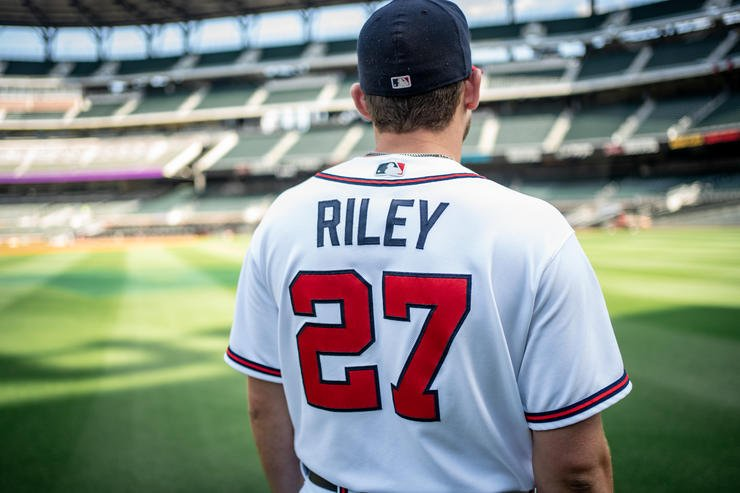 Riley's talent on the ball field was easy to see from an early age. He's had a passion for hunting since he was young, too.