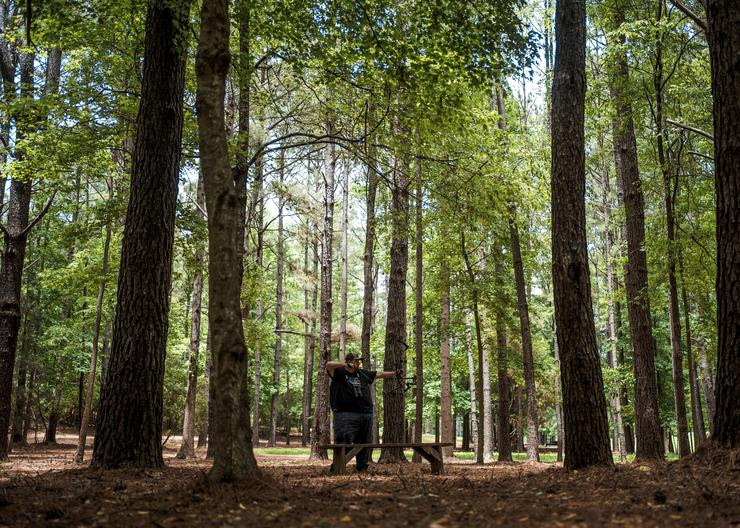 Following his father's advice, Turner quit his job to pursue his love of archery. Image by Realtree