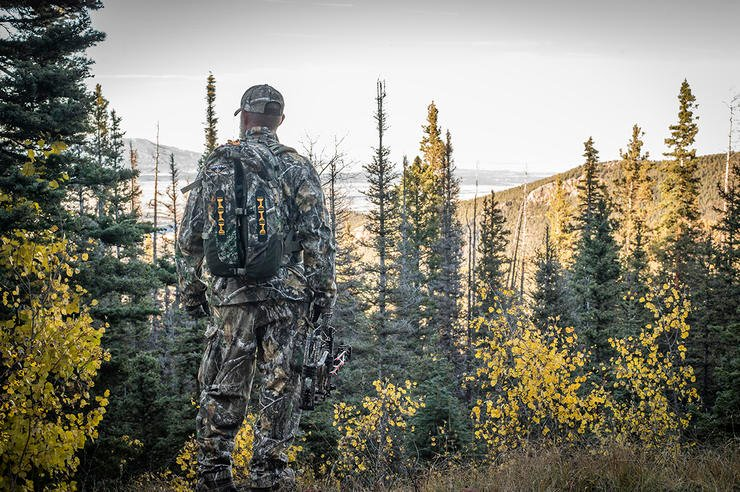 If and when you get a shot opportunity, it won't be like your backyard range. This is rugged country. Image by Bill Konway
