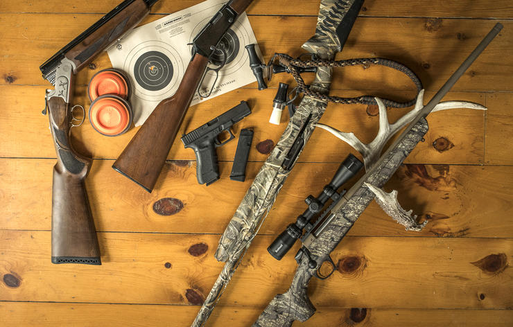 Want vs. need is always reason enough to buy a new gun, but for hunting North America, these five general picks will do everything you need. Image by Bill Konway