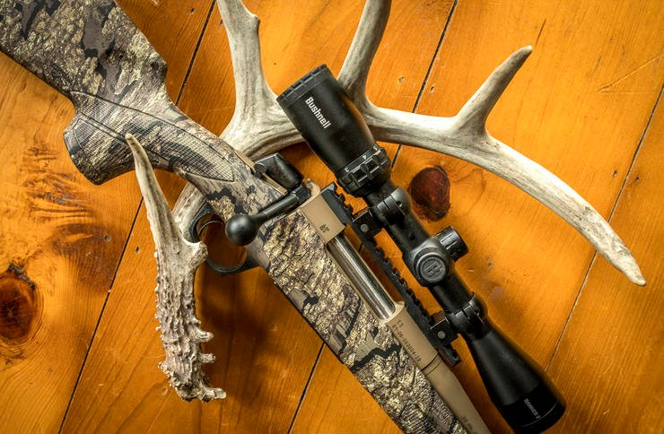 A good deer rifle is a must. Find one that fits you. Image by Bill Konway