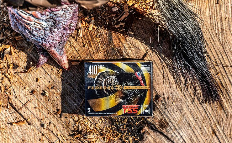 What steps should a turkey hunter take to maximize use of a .410 and loads in the field? Read on. Image by Federal Ammunition