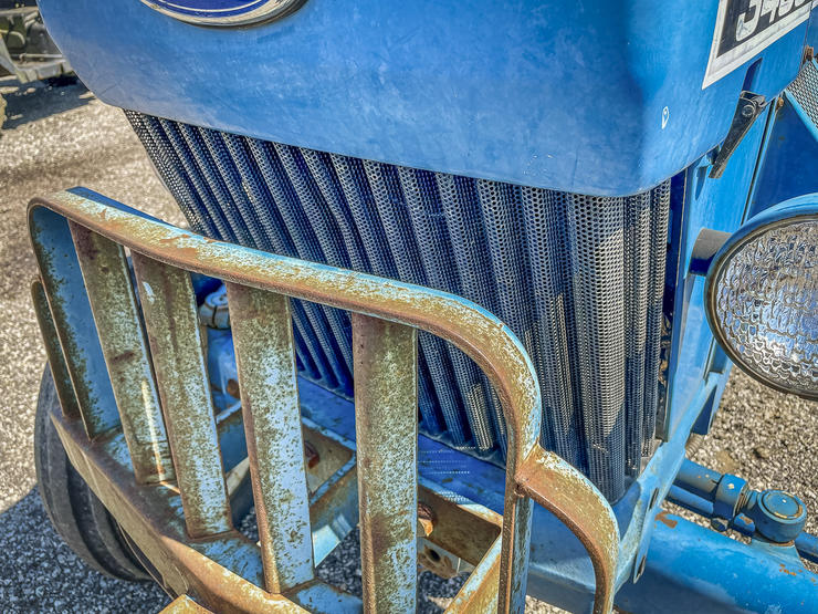 Keep grills and radiators clean and free of debris to keep your tractor running cool. Image by M Pendley