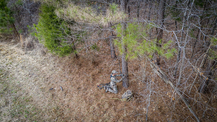 Want to learn more about whitetail behavior and tendencies? Use trail cameras to gather your own intel. Image by Realtree Media