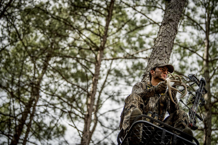 Ohio is full of big-woods opportunities. Deer densities are oftentimes lower, but some ancient bucks live here. Image by Realtree Media