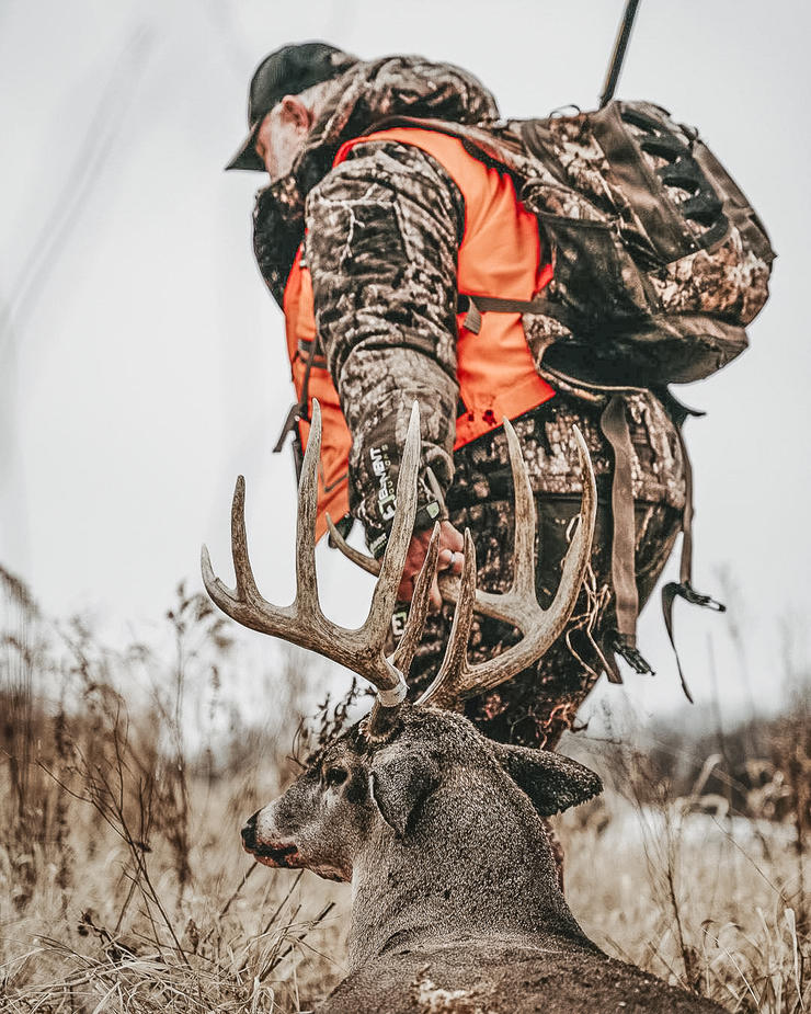 A 300-yard shot with a muzzleloader was once unheard of. Not anymore. Image by Small Town Hunting