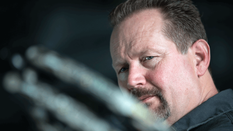 Matt McPherson, founder of Mathews Archery, introduced the single-cam bow in 1992, along with many other patents. Mathews was once ranked 78th in a list of the 500 fastest-growing companies. Image by Mathews Archery