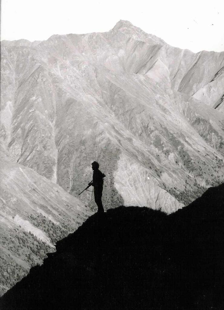The author on an Alaska mountain 40 years ago. Image by Mike Hanback