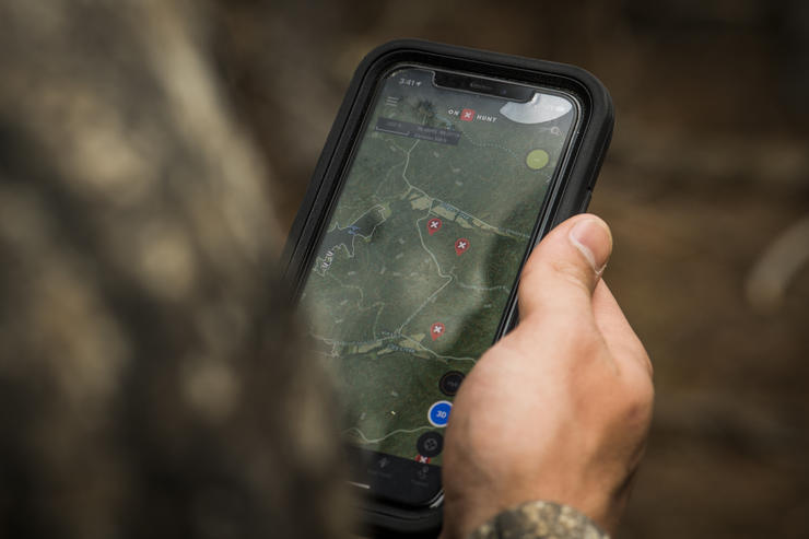 Digital tools make scouting from afar easier than ever. Image by Realtree