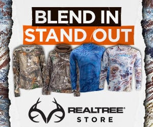 Shop Realtree hoodies, shirts, and gear to stand out and blend in