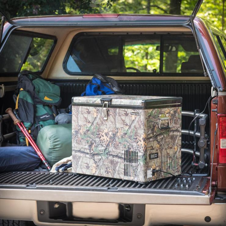 Equally at home in the kitchen or in camp, the portable freezer is perfect for keeping your game meat frozen.