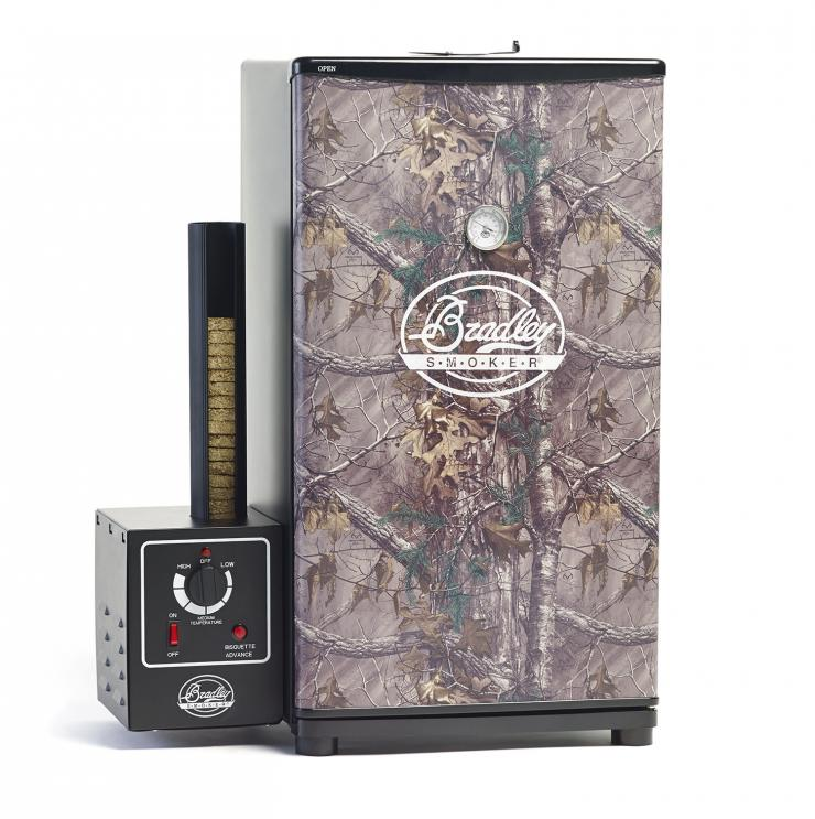 Fully insulated with settings that allow smoke, heat, or a combination, the Bradley Realtree Smoker is perfect for the BBQ lover on your list.