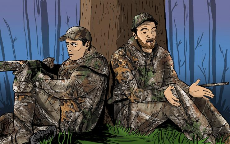 See why your buddy won't kill a turkey. (c) Ryan Orndorff illustration