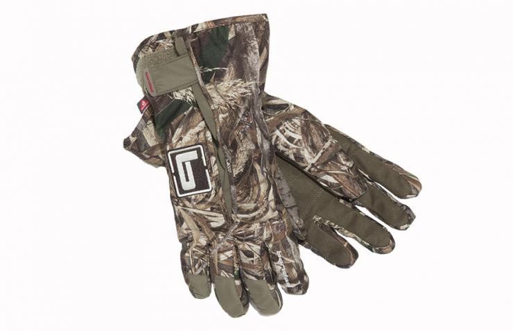 Banded's Squaw Creek insulated glove features SHEDS waterproof breathable technology. Photo © Banded