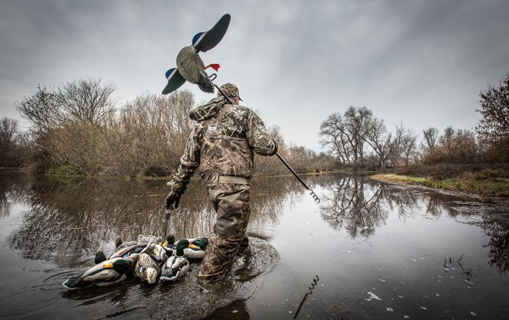 Paying attention to decoy details will put more ducks and geese on your strap. Photo ©Banded