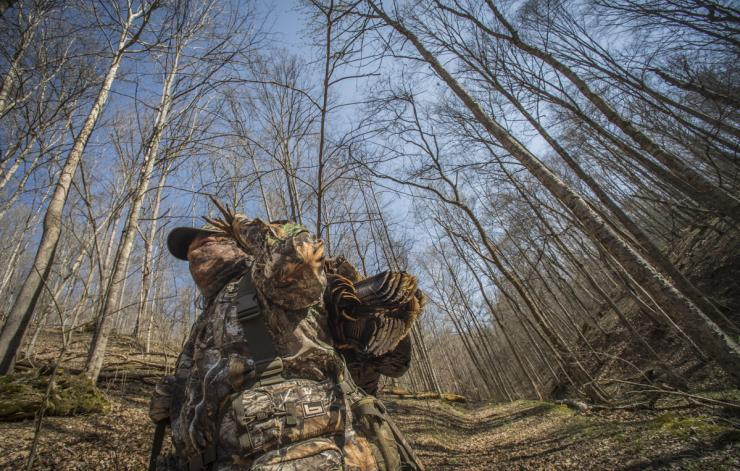 Try these tips to hunt fall gobblers. © Bill Konway photo