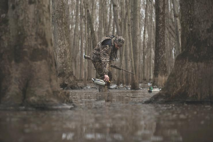 Low water in the South has made green-timber hunting difficult in many areas. Photo © Craig Watson