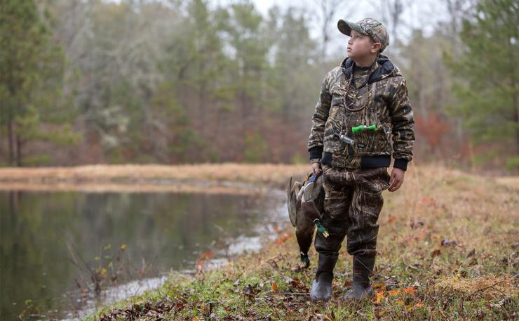 Delta Waterfowl's First-Duck Pin Program is part of a broad effort to recruit and retain waterfowl hunters in North America. Photo © Craig Watson