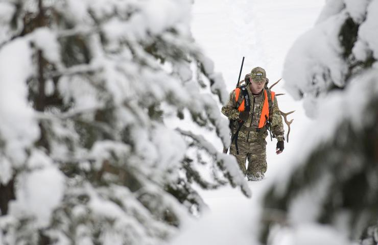 Hunts in the backwoods can be grueling. Use these tips to make it easier. (John Hafner photo)