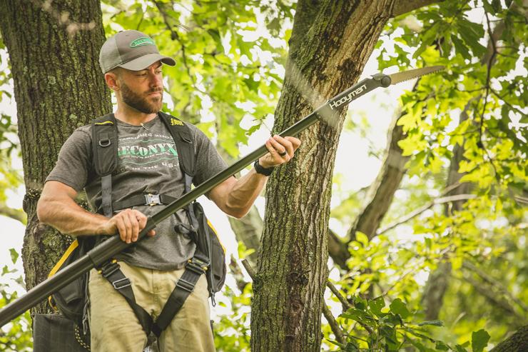 Do you cut shooting lanes? (Heartland Bowhunter photo)