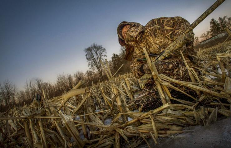 Saturated ag fields and sheet water can create fabulous duck and goose hunting opportunities. Photo © Bill Konway/Realtree