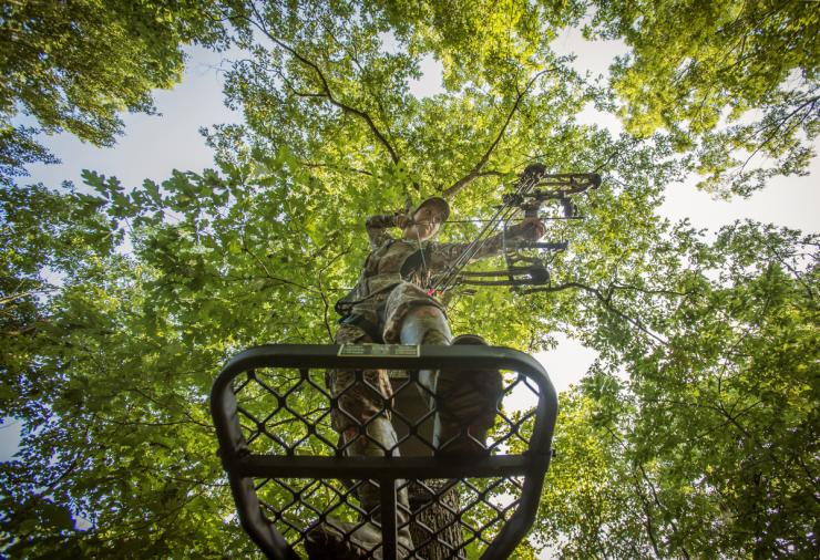 Take your treestand hunting to the next level. (Bill Konway photo)