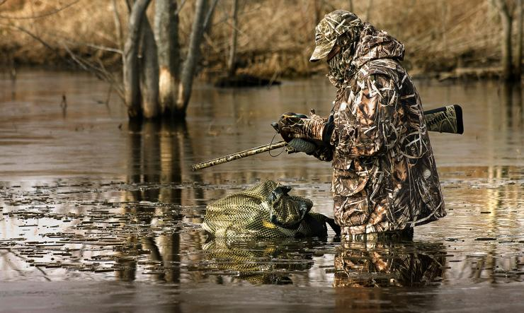 You can't kill ducks if you're not hunting, but some days are hopeless. How do you make the call? Photo © Bill Konway