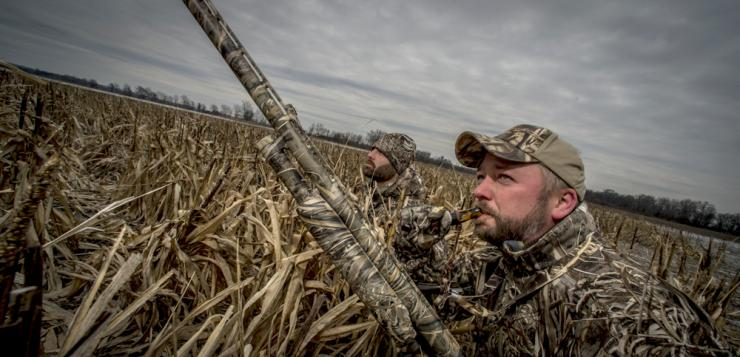 A good hat is indispensible when duck hunting. But what style to choose? Photo © Bill Konway
