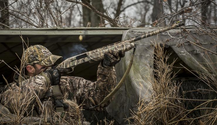 Don't get lazy with that gun. Geese are not slow, and it's actually easy to miss them. Photo © Bill Konway