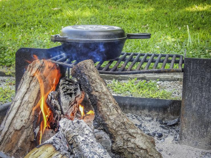 Campfire cooking always tastes better than the same recipes at home.