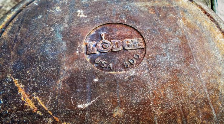 Long neglected cast iron can be picked up for next to nothing at flea markets and yard sales.