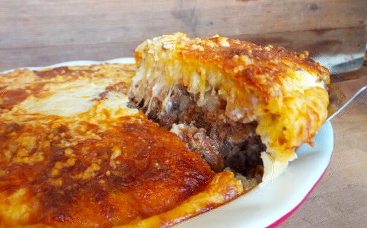 If you have any leftovers, the venison cheeseburger pie reheats well the next day.
