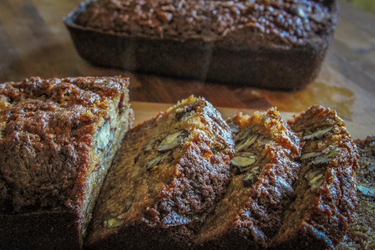 Pawpaw Pecan Bread makes an outstanding pre-hunt breakfast. Or wrap some up and take it with you to the stand.