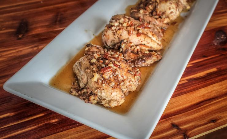 Serve the quail as a main course or as an elegant appetizer.