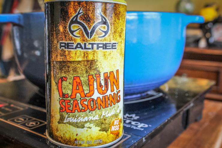 Realtree Cajun Seasoning give the recipe the perfect blend of flavor and heat.