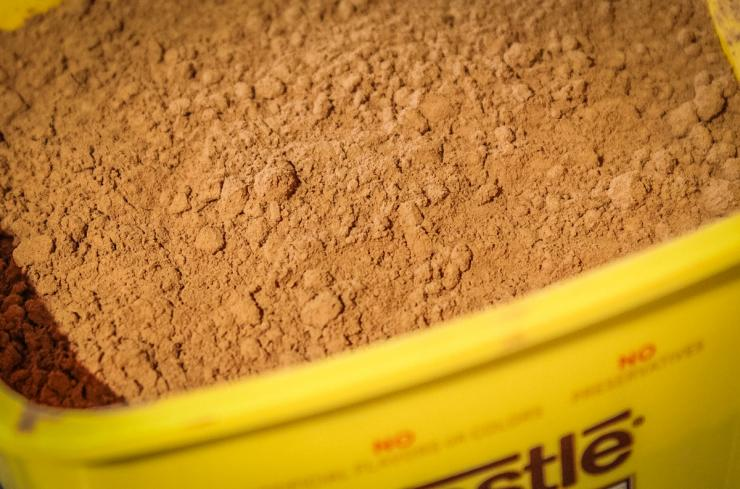 Unsweetened cocoa powder lends an unusual flavor to the BBQ sauce.