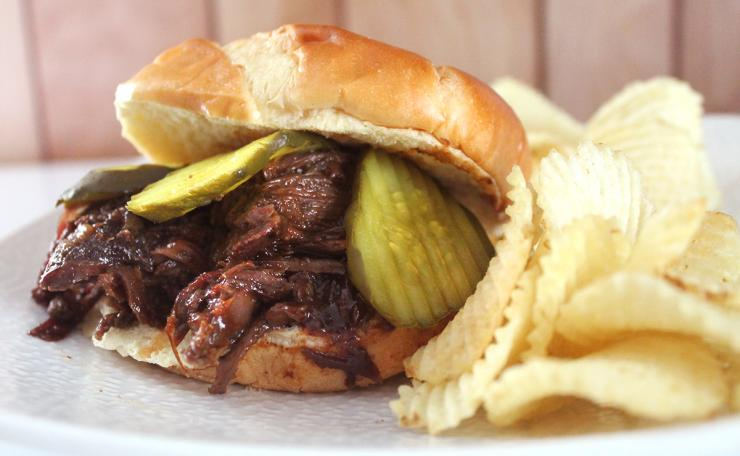 I like my BBQ Groundhog with some dill pickles on a good bun.