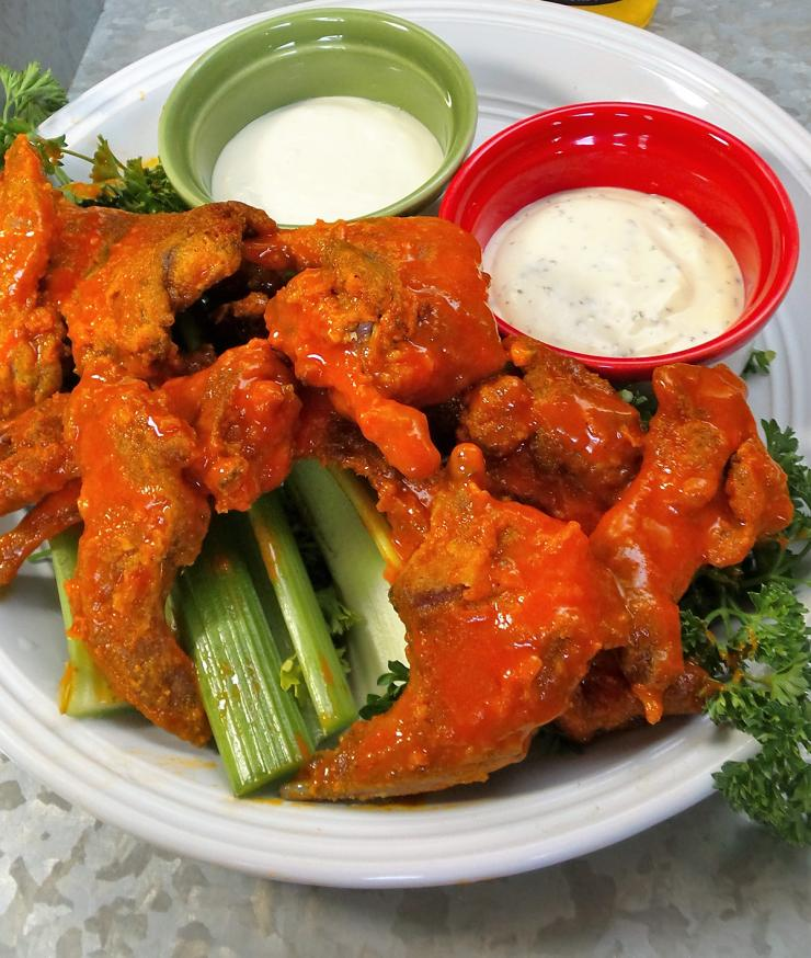 Bring Buffalo Fried Squirrel to your next get together. Not only will everyone love it, you can bet no one else will serve them.
