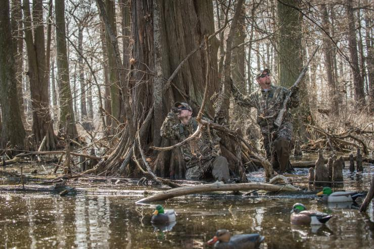 Misadventure often prompts strange or humorous nicknames for some duck hunting spots. Photo © Realtree