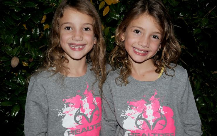 My daughters are modeling the Realtree Exclusive Youth Longsleeve Pullover. ©Stephanie Mallory
