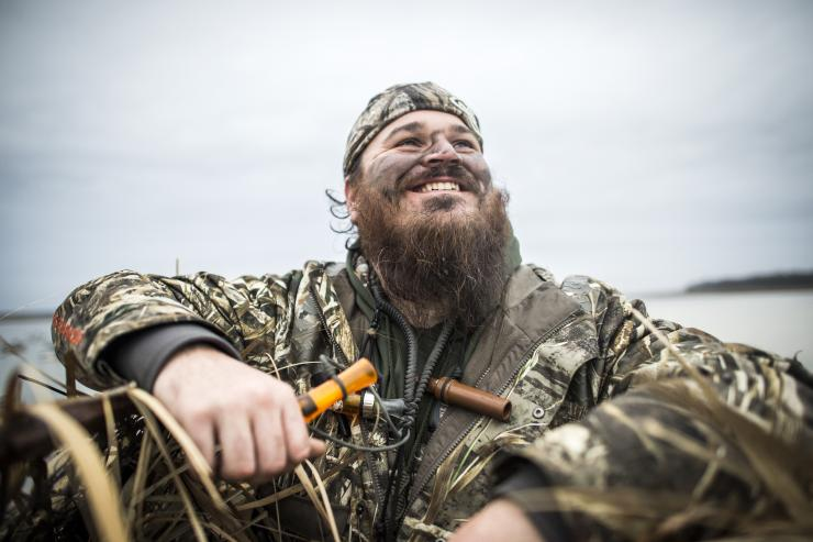 Duck Commander's Justin Martin has an extensive list of must-have gear he carries afield every day. Photo © Duck Commander