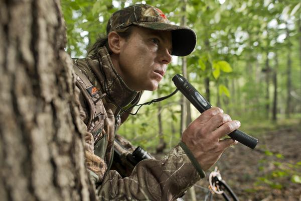Hunter with Grunt Call