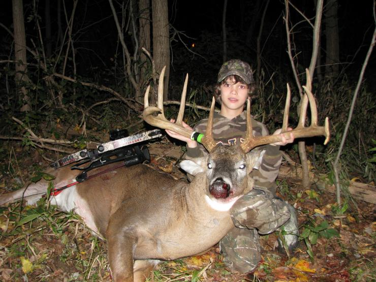 Rack Report: 12-Year-Old Zach Barker's 175-inch Crossbow