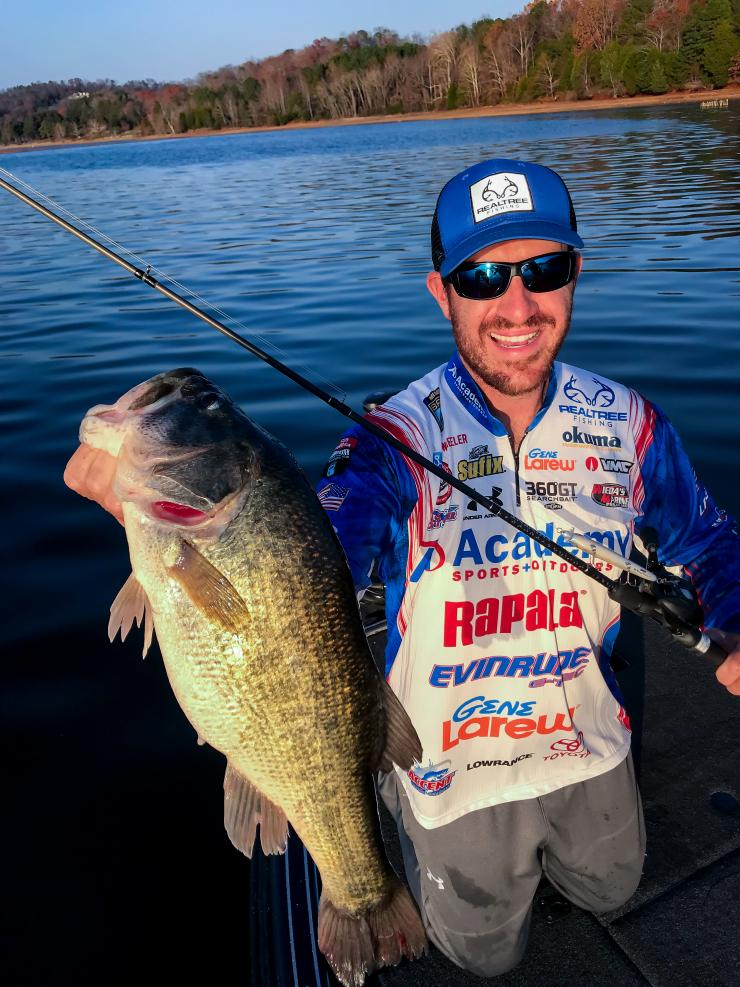 Jacob Wheeler and Realtree Fishing announce partnership. (Courtesy photo, Jacob Wheeler)