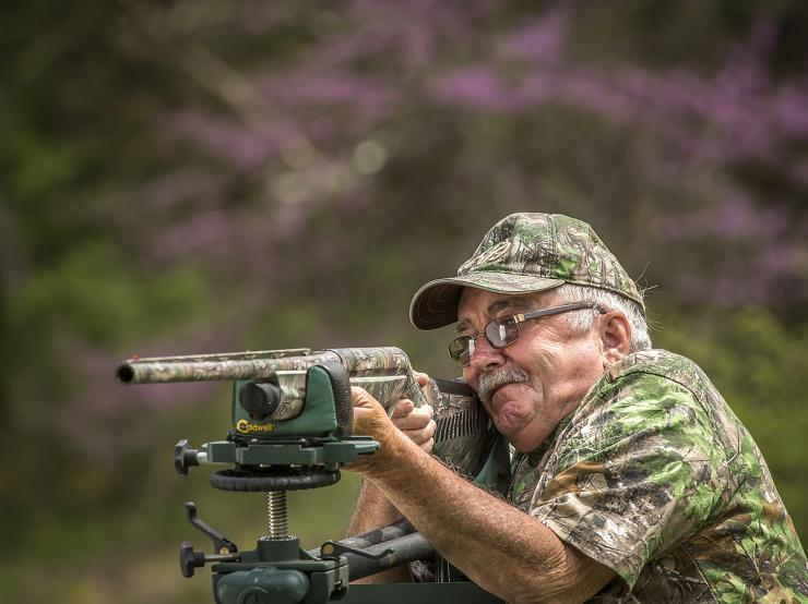 Pattern in your hunting position. ©Bill Konway