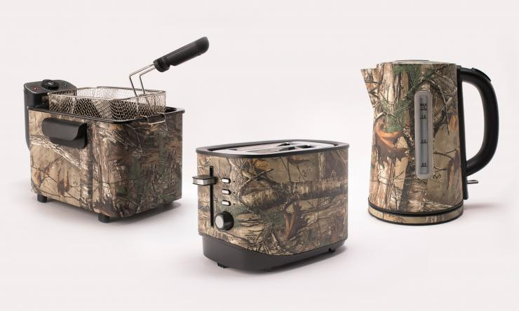 The new Realtree line from Magic Chef comes with just about any kitchen appliance you may need.