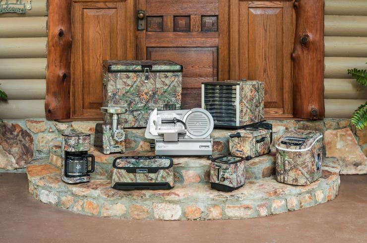 The Magic Chef Realtree line has everything you need for camp or kitchen.