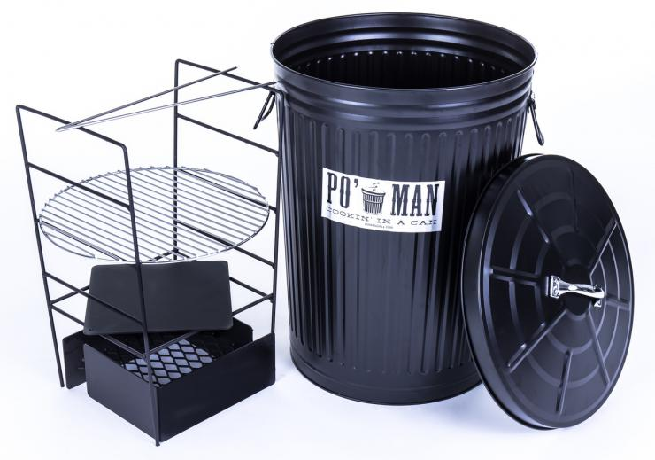The Po Man is a total package based on the old trash can style cooker.