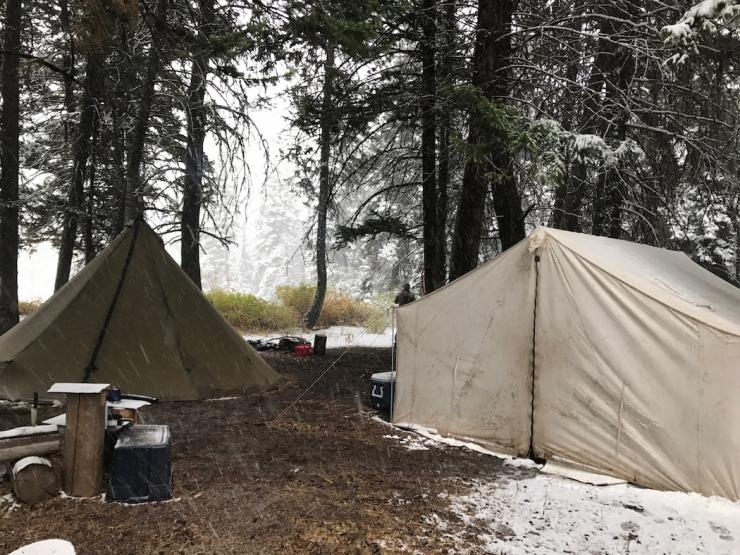 Have the right gear on a drop-camp hunt is essential. (Jason Reid photo)