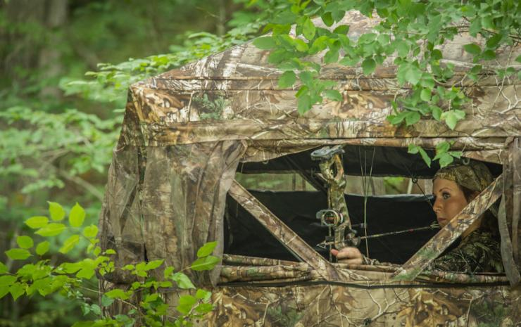 Take your ground blind skills to the next level. (Bill Konway photo)